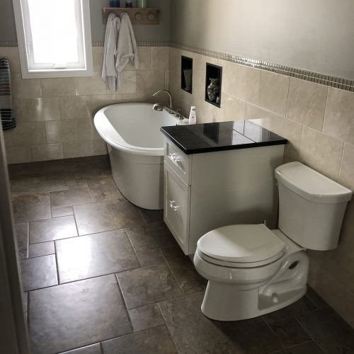 Interior Renovations Bathrooms
