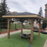 Pressure treated gazebo Waterdown